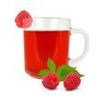 Raspberry tea Royalty Free Stock Photo