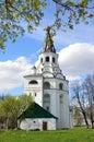 Raspyatskaya church bell tower in aleksandrovskaya sloboda vladimir region russia golden ring of Stock Image