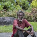Rastafari man, Port Antonio, Jamaica Royalty Free Stock Photo