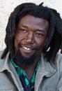 Rastafarian portrait Royalty Free Stock Images