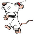 Rat control vector illustration of Stock Photography