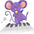 Rat sing vector Royalty Free Stock Photo