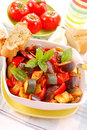 Ratatouille for lunch Stock Images