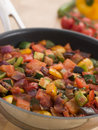 Ratatouille in a Saute Pan Royalty Free Stock Photos