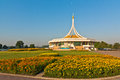 Ratchamangkhala pavilion photograph in the suanluang rama ix public park bangkok thailand Royalty Free Stock Photos