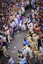 Rathyatra Ahmedabad, India street festival Royalty Free Stock Photo