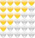 Rating hearts