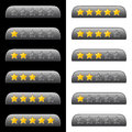 Rating stars for web vector Royalty Free Stock Photo