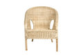 Rattan chair Royalty Free Stock Photography