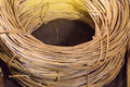 Rattan, materials used to make basket or furniture Royalty Free Stock Photo