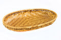 Rattan products from thailand on a white background Stock Images