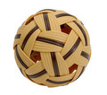 Rattan Takraw or plastic ball Stock Photo