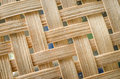 Rattan texture stock photos pattern of the weaves Royalty Free Stock Image
