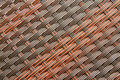 Rattan Weave Seamless Pattern Royalty Free Stock Photo