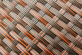 Rattan weave seamless pattern background Stock Photography