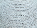 Rattan weave texture Royalty Free Stock Photography