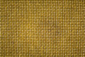 Rattan weave texture close up against the light from lamp Stock Images