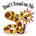 Rattlesnake Dont Tread On Me