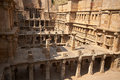 Rav ki vav stepwell ornate stone carved walls lining the th century at patan gujarat india selected as a unesco world heritage Stock Photos