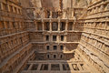 Rav ki vav stepwell ornate stone carved walls lining the th century at patan gujarat india selected as a unesco world heritage Stock Image