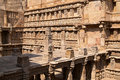 Rav ki vav stepwell ornate stone carved walls lining the th century at patan gujarat india selected as a unesco world heritage Royalty Free Stock Image