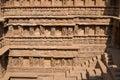 Rav ki vav stepwell ornate stone carved walls lining the th century at patan gujarat india selected as a unesco world heritage Stock Photo