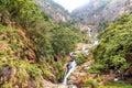 Ravana falls in Sri Lanka
