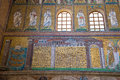 Ravenna, Italy - 7 july 2016 - Basilica of San Vitale Royalty Free Stock Photo