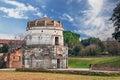 Ravenna, Italy: the mausoleum of Theodoric Royalty Free Stock Photo