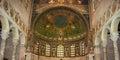 Ravenna ,old Byzantine mosaics Royalty Free Stock Photo