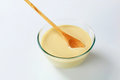 Raw batter Royalty Free Stock Photo