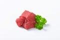 Raw Beef Meat Chunk