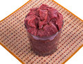 Raw beef meat closeup stock image Stock Photos