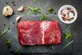 Raw beef meat tenderloin Royalty Free Stock Photo