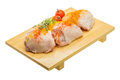 Raw chicken thigh ready for cooking Stock Photo