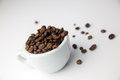 Raw cofee Royalty Free Stock Photo
