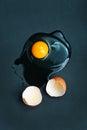 Raw eggs Royalty Free Stock Photo