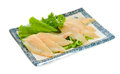 Raw fish fillet on the background Stock Image