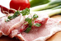 Raw fresh pork meat Stock Photography