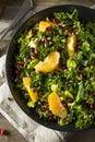 Raw Healthy Kale Winter Salad