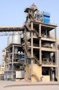 vertical mill and circulating air separator with y Royalty Free Stock Photo