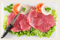 Raw meat. Royalty Free Stock Images
