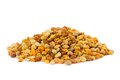 Raw organic bee pollen a pile of granules is one of the richest and purest natural foods ever discovered and the incredible Stock Images