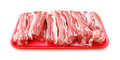 Raw Pork Ribs Royalty Free Stock Photo