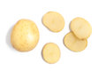 Raw Potato Sliced Royalty Free Stock Photo