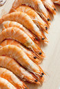 Raw prawns Royalty Free Stock Photo