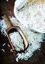Raw rice Royalty Free Stock Photo
