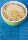 Raw rice grain Stock Photo