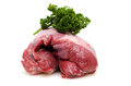 Raw roast wild boar from the shoulder Royalty Free Stock Photos