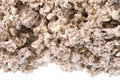 Raw Rubber Crumbs Isolated Royalty Free Stock Images